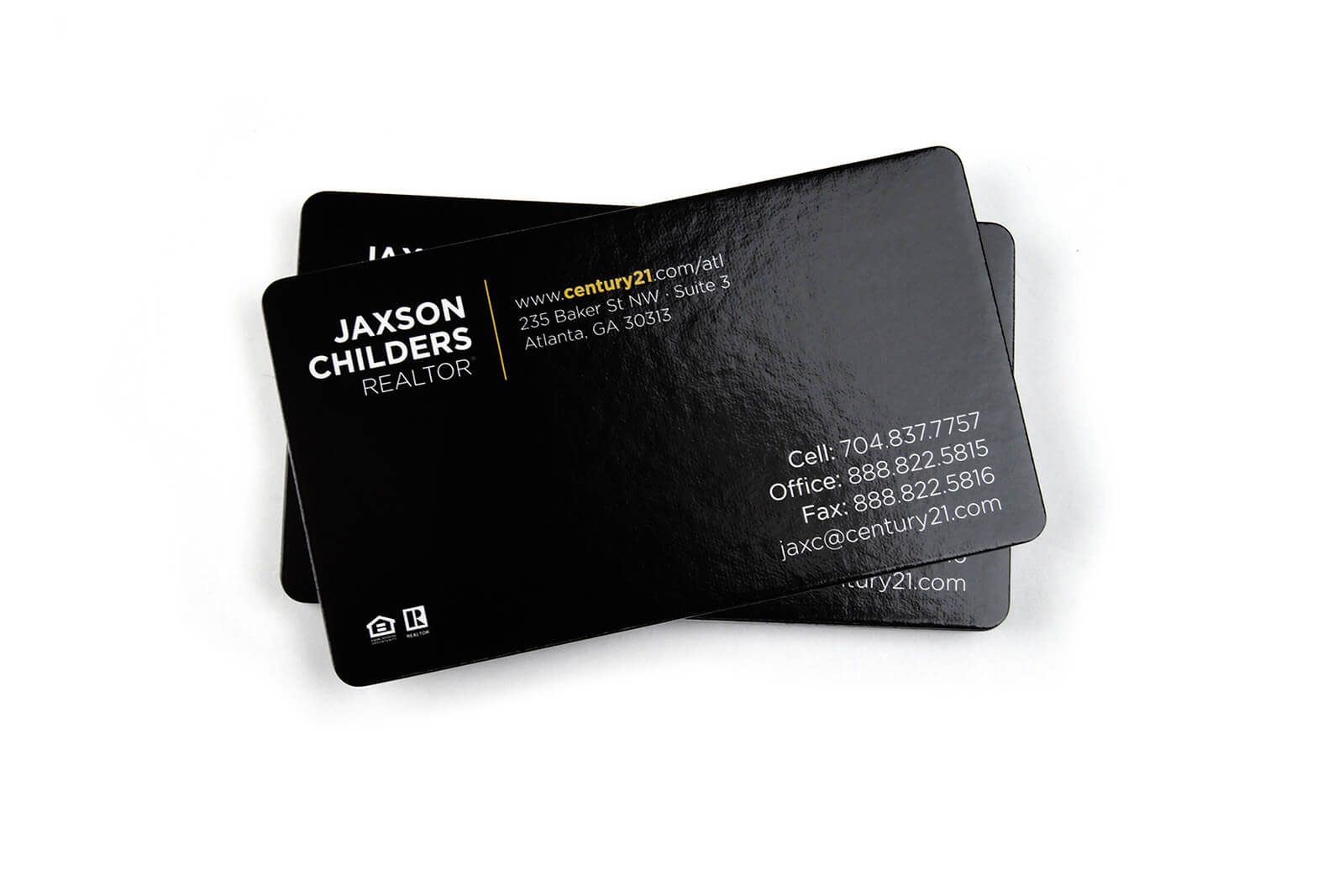 Glossy Business Cards - UV Coated Business Cards | Primoprint